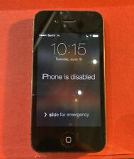 Apple iPhone 4s - A1387 EMC 2430 - Black - Passcode Locked