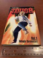 TOUGH Tetsuya Saruwatari Volume 1 English Manga Viz FREE SHIPPING
