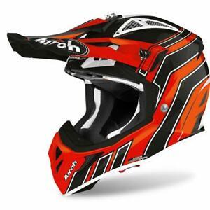 New Airoh Aviator ACE ART Off Road Motorcycle Bike Helmet Motocross Enduro MX