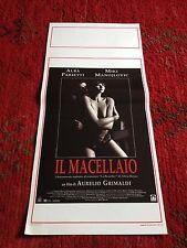 Il Macellaio locandina poster Aurelio Grimaldi Alba Parietti Miki Manojlovic