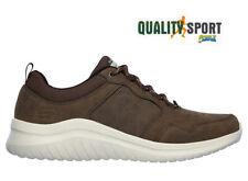 Skechers Ultra Flex Marrone Scarpe Shoes Uomo Sneakers Sportive 52779 CHOC 2020