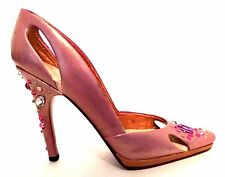 Raine Just The Right Shoe Bling 25583 Pink Rhinestones Miniature Retired 2006