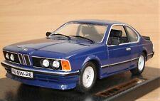 blauer BMW 635 CSI in 1:18  von Anson  - Metall -  OVP