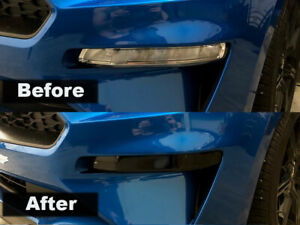 Crux Moto Turn Signal Tint Air Release Bubble Free Fits Ford Mustang 2018 +