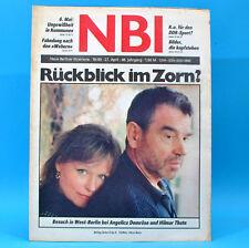 DDR NBI 18 1990 Heiligenstadt Greta Garbo Grimmen Angelica Domröse Hilm. Thate X