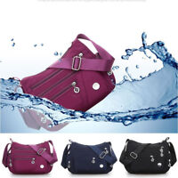 Women Waterproof Casual Pocket Storage Bag Girl Crossbody Shoulder Nylon Handbag