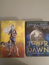 Sara J Maas Book Lot / 2 Hardback Books.
