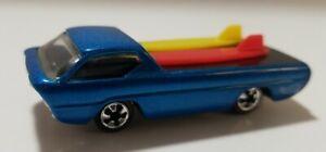 History of Hot Wheels FAO Schwartz Deora 1994 Redline  1 of 7k Made Loose Blue