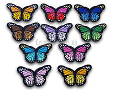 Butterfly Iron / Sew On Embroidered Patch Applique Motif *buy1 get 1 half price*