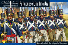 Napoleónicas portuguesa línea Infantería-Polvo Negro-Enviado primera clase