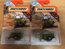 Matchbox Trailer Trawler Military Army Lot of 2