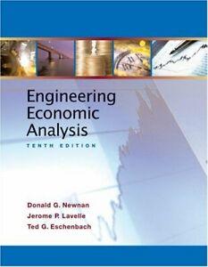 Engineering Economic Analysis  Donald G Newnan