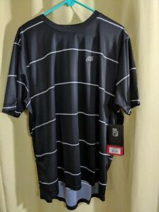 Troy Lee Designs Flowline SS Jersey Stacked Black 2XL Adult