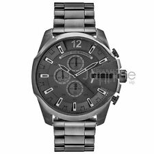 Diesel Authentic Watch DZ4282 Gunmetal Mega Chief Chronograph 51mm
