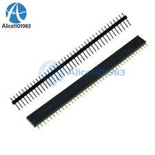 20PCS Male & Female 40pin 2.54mm Header Socket Row Strip PCB Connector Cool
