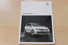 71457) VW Golf VI GTi adidas Prospekt 10/2010