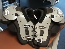 "Boys medium 11""-12"" Tag football shoulder pads battle gear pro40"