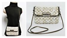 100% Authentic Coach Kristen Opt Art Sequin Front Flap Crossbody Swingpack