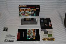 SUPER MARIO ALL-STARS COMPLETE IN BOX 1ST RUN INSERTS GREAT CONDITION NEAR MINT