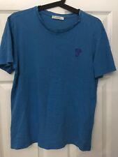 **  Men's Blue Versace T-Shirt - Size M  **