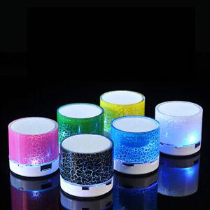 Mini Bluetooth LED Speaker