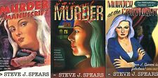 Murder by Manuscript, Innocent Murder, Murder at the Fortnight; Steve J. Spears