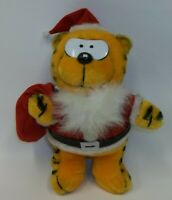 Vintage Ace Novelty - HEATHCLIFF as Santa Claus Plush Stuffed Animal Toy