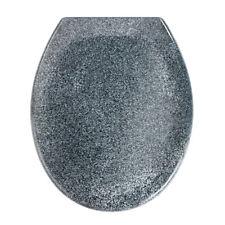 WENKO 18902100 Premium Wc-sitz Ottana Granit - Absenkautomatik (grau)
