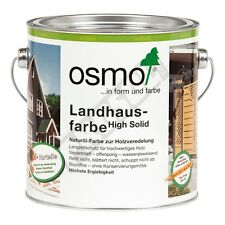 Osmo Landhausfarbe Schwarzgrau 2703-2,5 l
