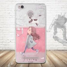 (200+ Phone Model) Patterned Soft Gel TPU Rubber Back Skin Silicone Case Cover