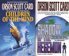 Partial Set Lot of 13 Ender HARDCOVER by Orson Scott Card (Sci Fi) Shadow Game