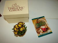 1 HARMONY KINGDOM - Lord Byron's Harmony Garden - IRIS - New In Box
