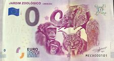 BILLET 0 EURO JARDIM ZOOLOGICO LISBON ZOO PORTUGAL  2019-2  NUMERO  101
