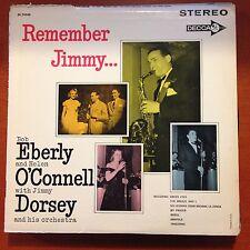 Remember Jimmy-Bob Eberly-helen O'connell-jimmy Dorsey-LP-Vinyl Record