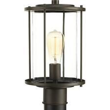 Progress Lighting Gunther Collection 1-Light Outdoo 00004000 r Antique Bronze Post Lamp