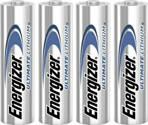 4 2 X New Genuine Energizer Ultimate Lithium AA AAA CR2032 Batteries 2029 expiry
