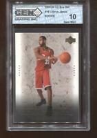 Lebron James RC 2003-04 Upper Deck Box Set #16 Rookie GEM MINT 10