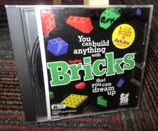 GRYPHON: BRICKS CD-ROM GAME FOR MAC, KIDS TO ADULTS, DREAM IT & BUILD IT, GUC