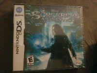 New Sealed Sorcerer's Apprentice (Nintendo DS, 2010) Disney Nic Cage Movie game