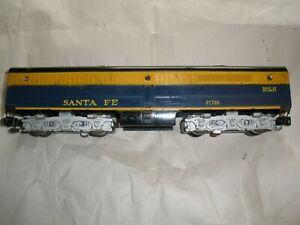American Flyer 21720 Santa Fe freight diesel B unit from 1958