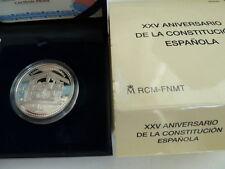 moneda 10 euros de plata Ocho Reales año 2003 Aniversario Constitucion Española