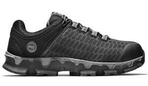 Timberland PRO Powertrain Alloy Toe EH Black Work Shoes A176A