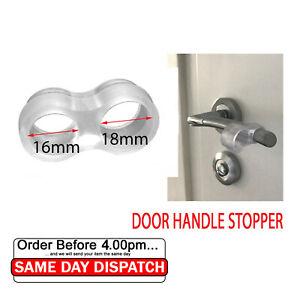Wall Protector Door Handle Stop Rubber, Fixing Free Stopper Bumper Guard