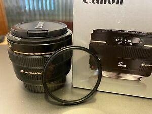 Canon EF 50mm f/1.4 USM - Excellent Condition