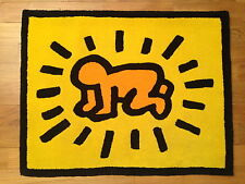 KEITH HARING - RADIANT CHILD -  CARPET - TAPIS - EDITION AXIS - CIRCA 1988/1999