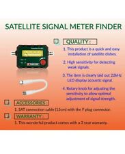 Parkside Satellite Finder Frequency Range 950-2300MHz Leddisplay acoustic signal