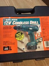 Used black and decker 12 volt drill
