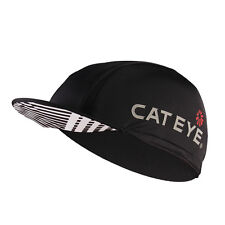 CATEYE Cycling Hat Anti-sweat Breathable Outdoor Sport Windproof Black Cap