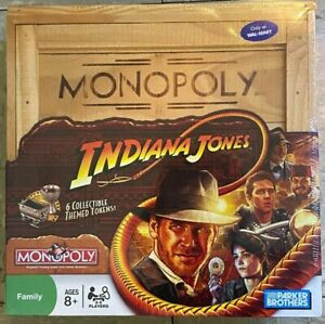 Monopoly Indian Jones Limited Edition Compete Board - Brand New - Sealed