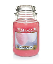 RARE NEW YANKEE CANDLE Large Classic Jar Candles - Cotton Candy